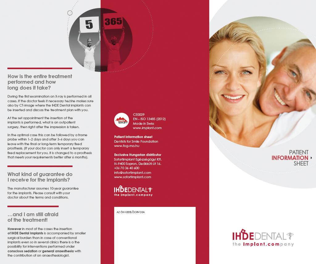 FOGMA - Patient Information Sheet